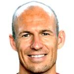 Arjen Robben foto do rosto