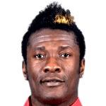 Asamoah Gyan foto do rosto