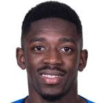 Ousmane Dembélé foto do rosto