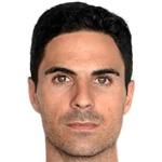 Mikel Arteta headshot